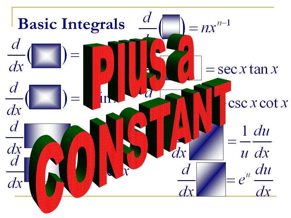 Basic Integrals