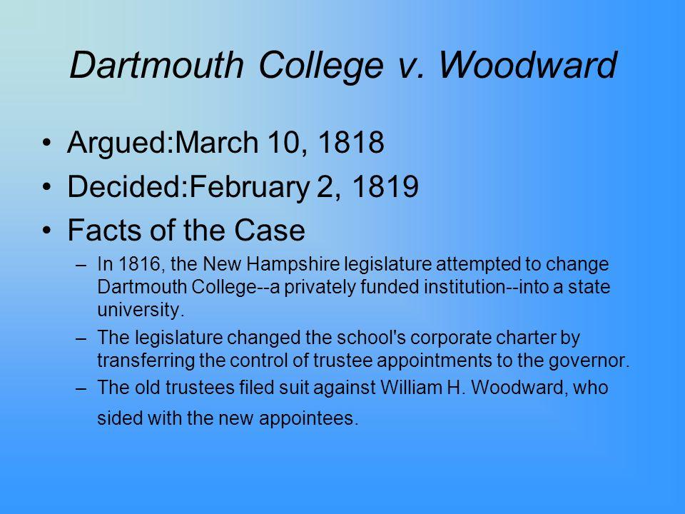 Dartmouth College v.
