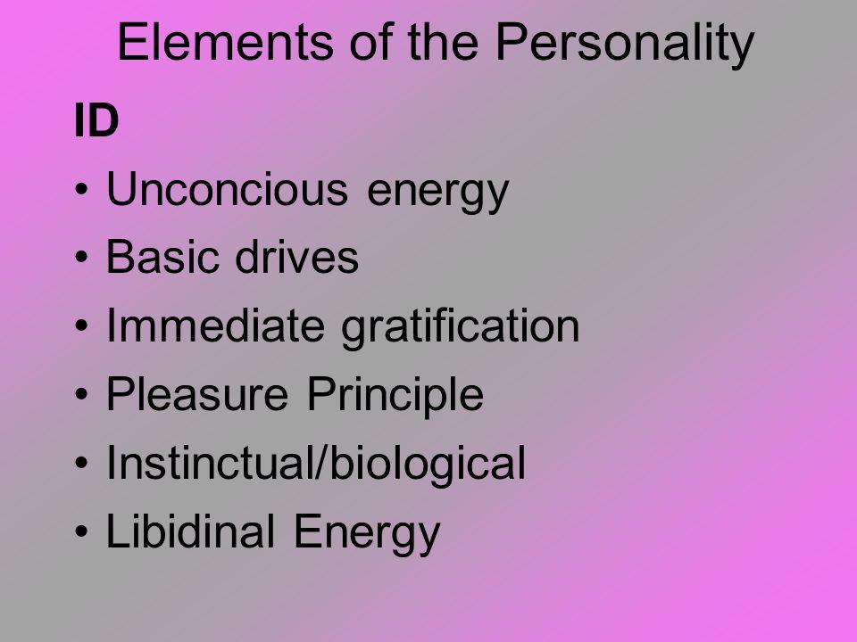 THE ICEBERG CORRELATION Id - Pleasure Principle Ego - Reality Principle Super Ego - Moral Principle Ego Super Ego Id