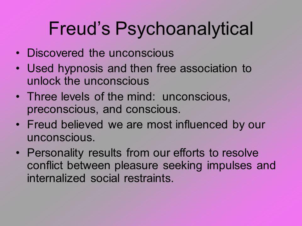 Psychoanalysis and Freud