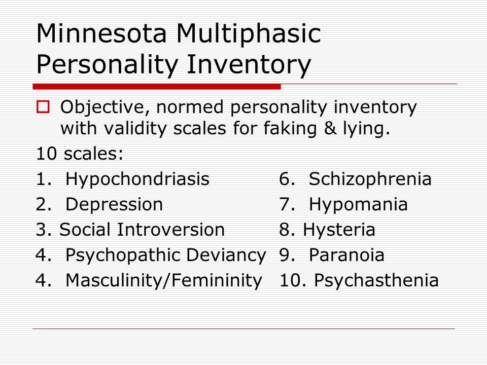 Trait Tests Myers – Briggs Test - Based on Jungs personality types: Extravert vs. Intravert Thinking vs. Feeling Judging vs. Perceiving Sensing vs. In