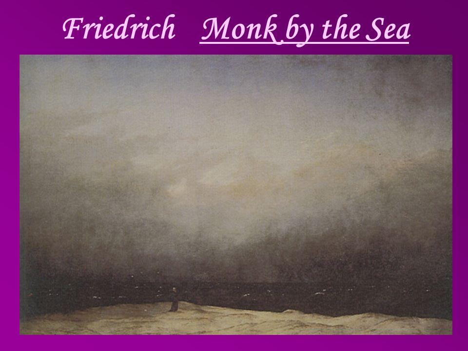 FriedrichMonk by the Sea