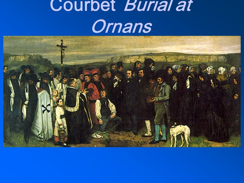 CourbetBurial at Ornans