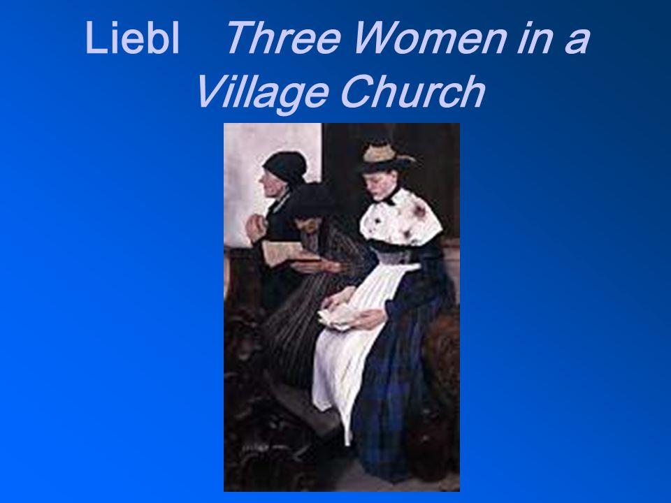 LieblThree Women in a Village Church
