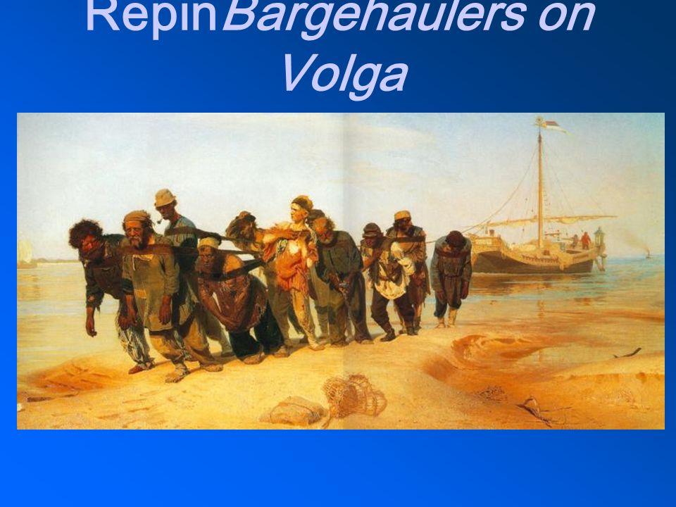 RepinBargehaulers on Volga