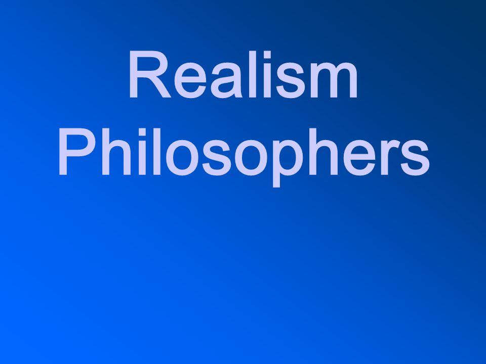 Realism Philosophers