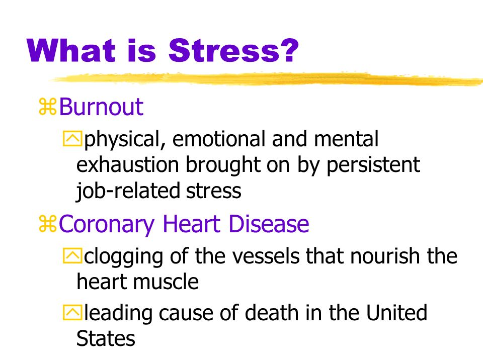 Stress and Control zHealth consequences of a loss of control No connection to shock source To shock controlTo shock source Executive ratSubordinate ra