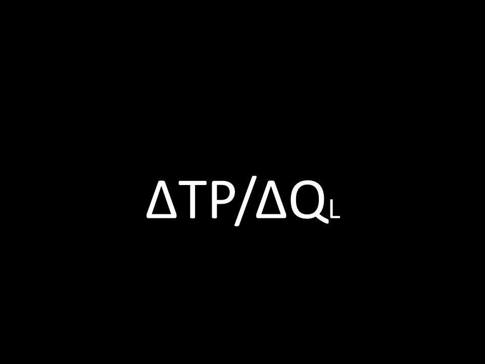 ΔTP/ΔQ L