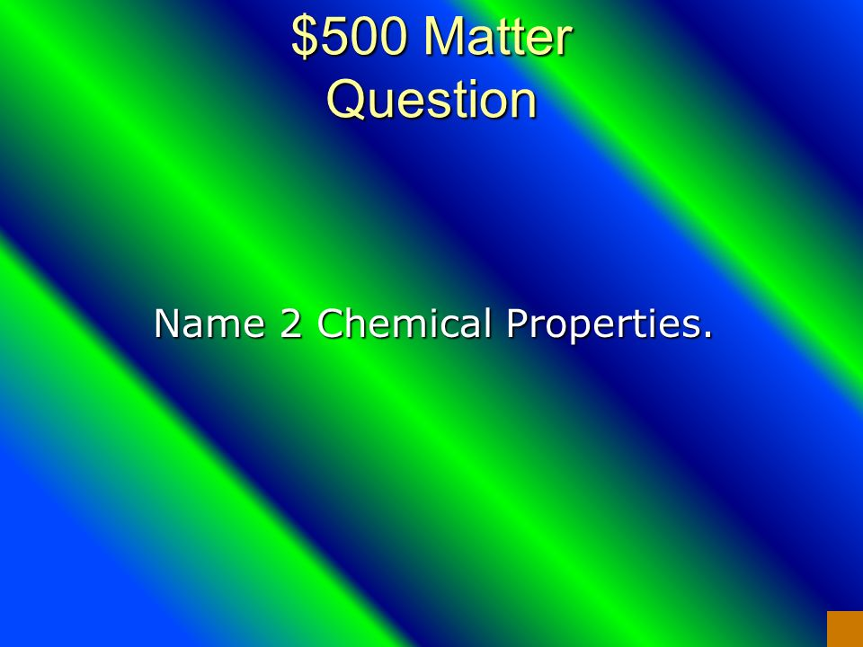 $400 Matter Answer Intensive