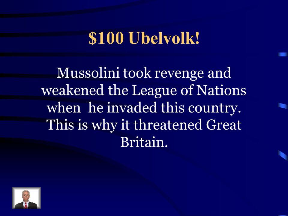 $100 War Begins The U.S.