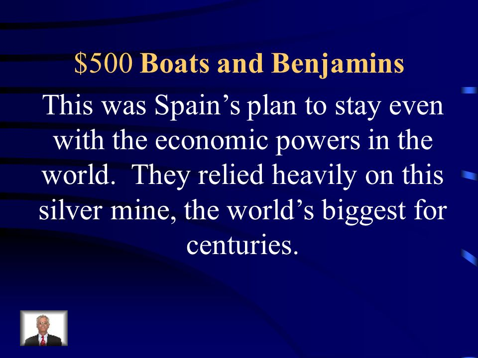 $400 Boats and Benjamins Encomiendas, creoloes, and mestizos.