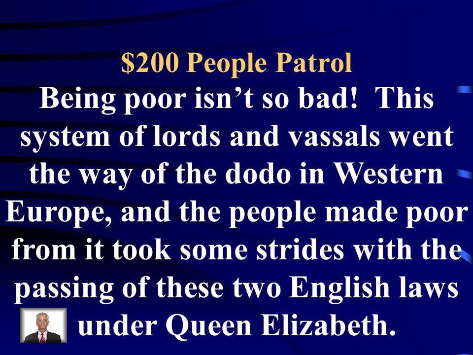$100 People Patrol Europes population ballooned to this many by the year 1600, no thanks to this population stopper in the 14 th Century.