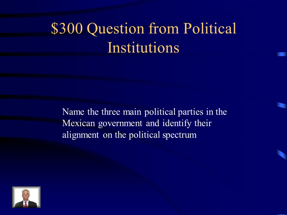 $200 Answer from Political Institutions The U.S.