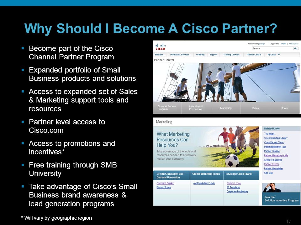 13 Why Should I Become A Cisco Partner.