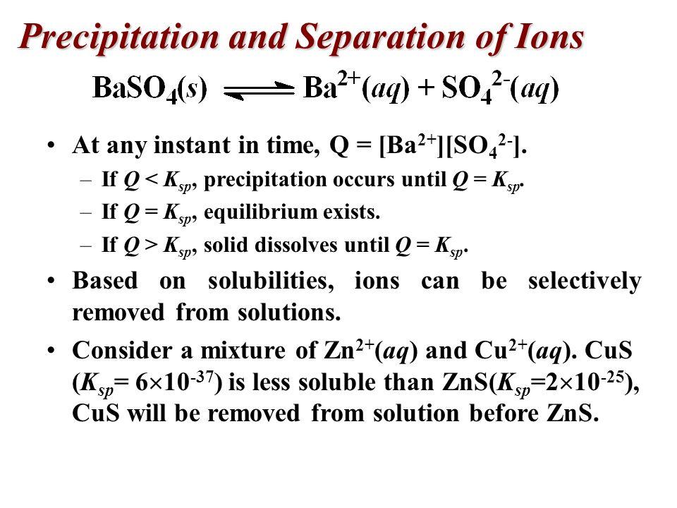 A solution prepared by adding 750 mL of 4.00 x 10 - 3 M Ce(NO 3 ) 3 to 300.0 mL of 2.00 x 10 -2 M KIO 3. Will Ce(IO 3 ) 3 precipitate? (K sp = 1.9 x 1