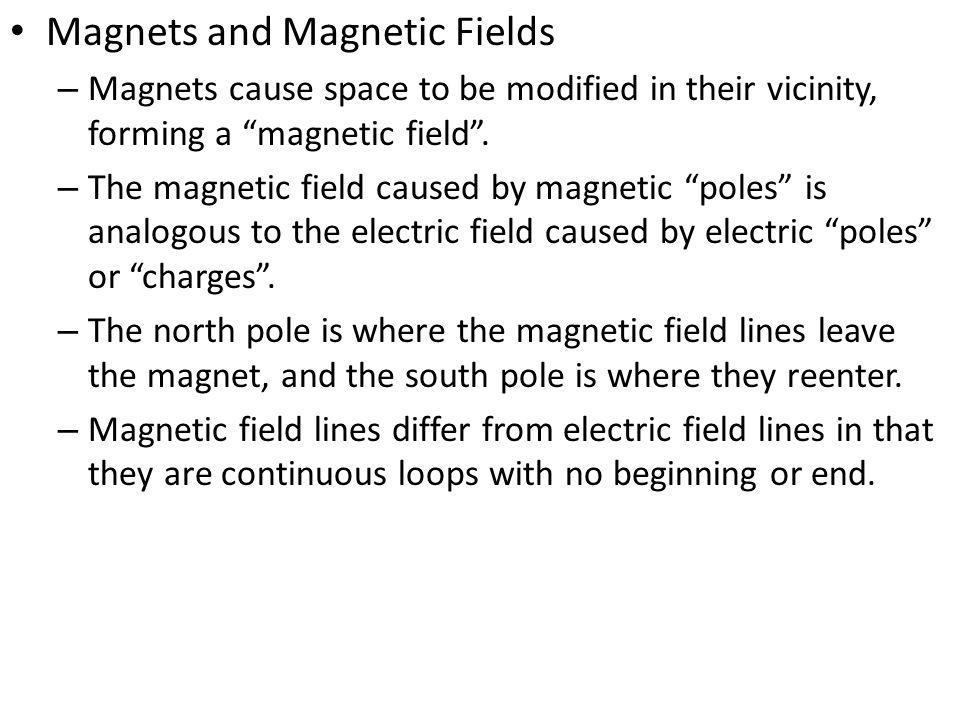 Sample Problem What is the force on a 100 m long wire bearing a 30 A current flowing north if the wire is in a westward- directed magnetic field of 400 mT.