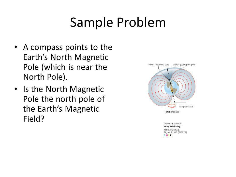 What is the magnitude and direction of the magnetic field at point P, which is 3.0 m away from a wire bearing a 13.0 Amp current.