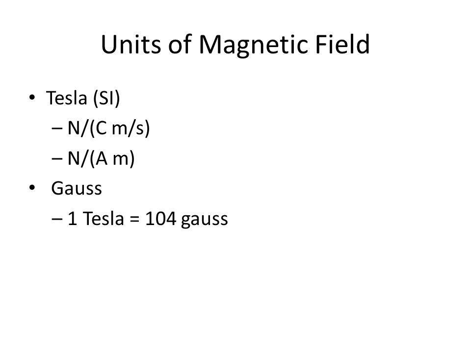 Magnetic Force on Particles – Magnetic fields cause the existence of magnetic forces.
