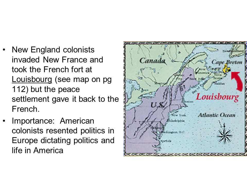 American ambivalence during the French and Indian War was caused by: –Geographical barriers like rivers, –Conflicting religions, from Catholic to Quaker, –Varied nationalities: German, English, Irish, Scots-Irish, etc –Differing types of colonial governments –Many boundary disputes, –The resentment of crude backcountry settlers against the aristocratic bigwigs.