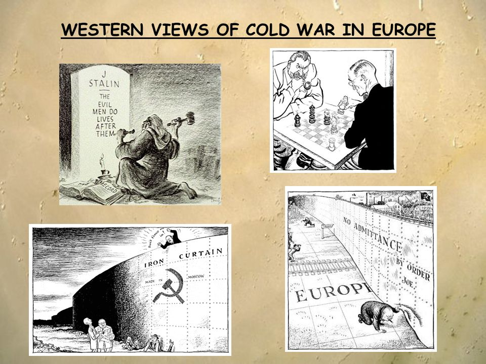 WESTERN VIEWS OF COLD WAR IN EUROPE
