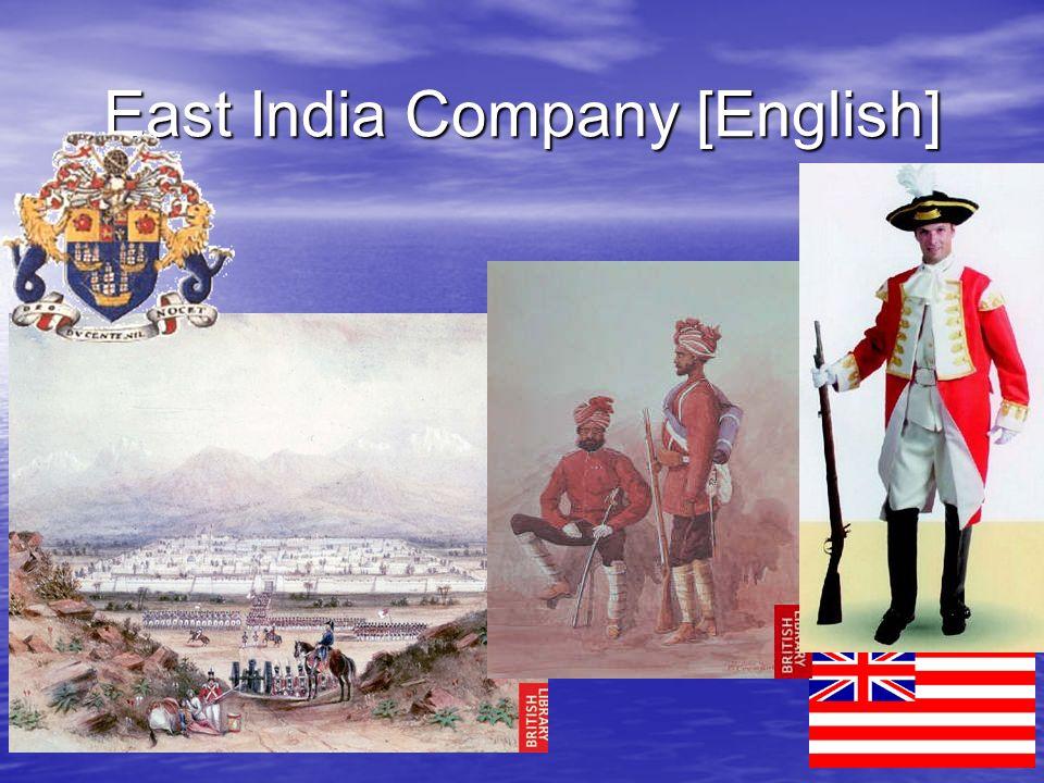 East India Company [English]