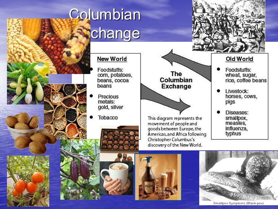 Columbian Exchange Columbian Exchange