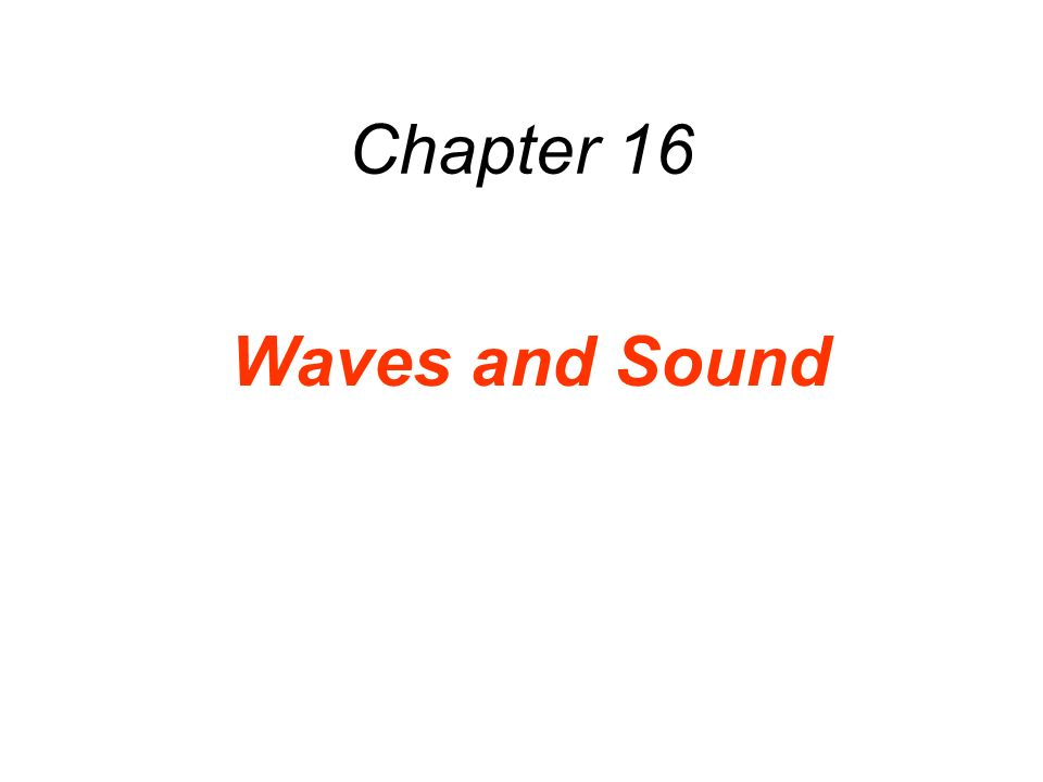 16.6 The Speed of Sound In a gas, it is only when molecules collide that the condensations and rerefactions of a sound wave can move from place to place.