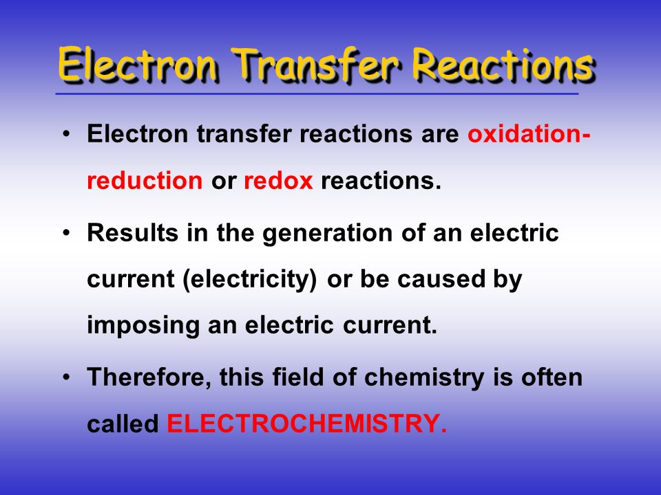 Galvanic Cells 19.2 spontaneous redox reaction anode oxidation cathode reduction - +