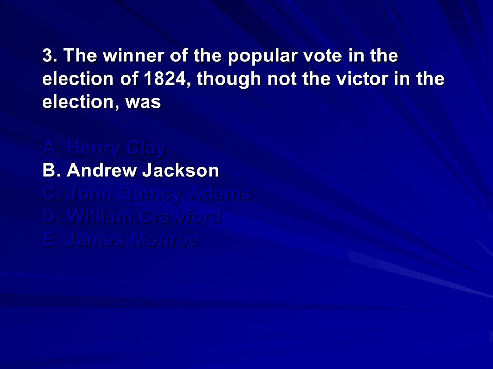 14.The issue that led to the final and complete break between Andrew Jackson and John C.