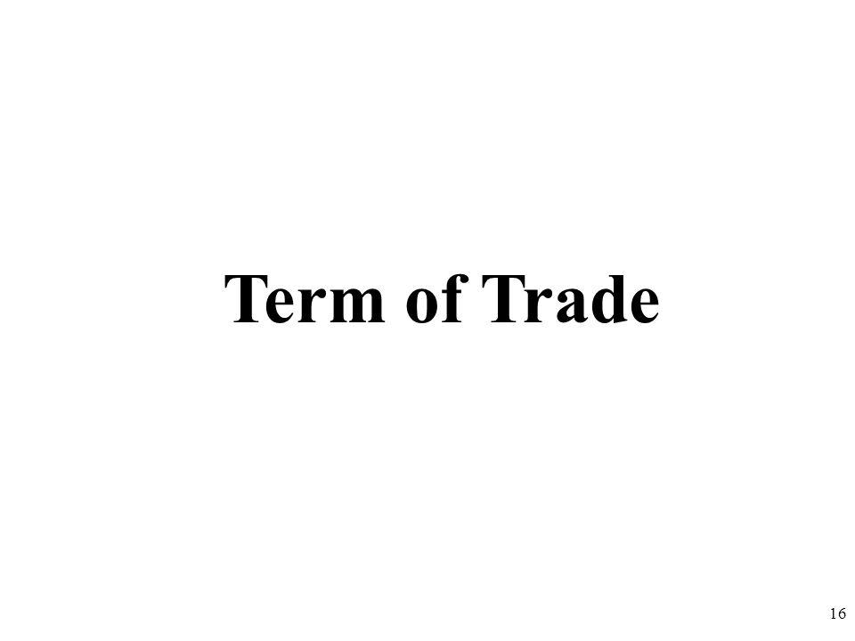 Term of Trade 16