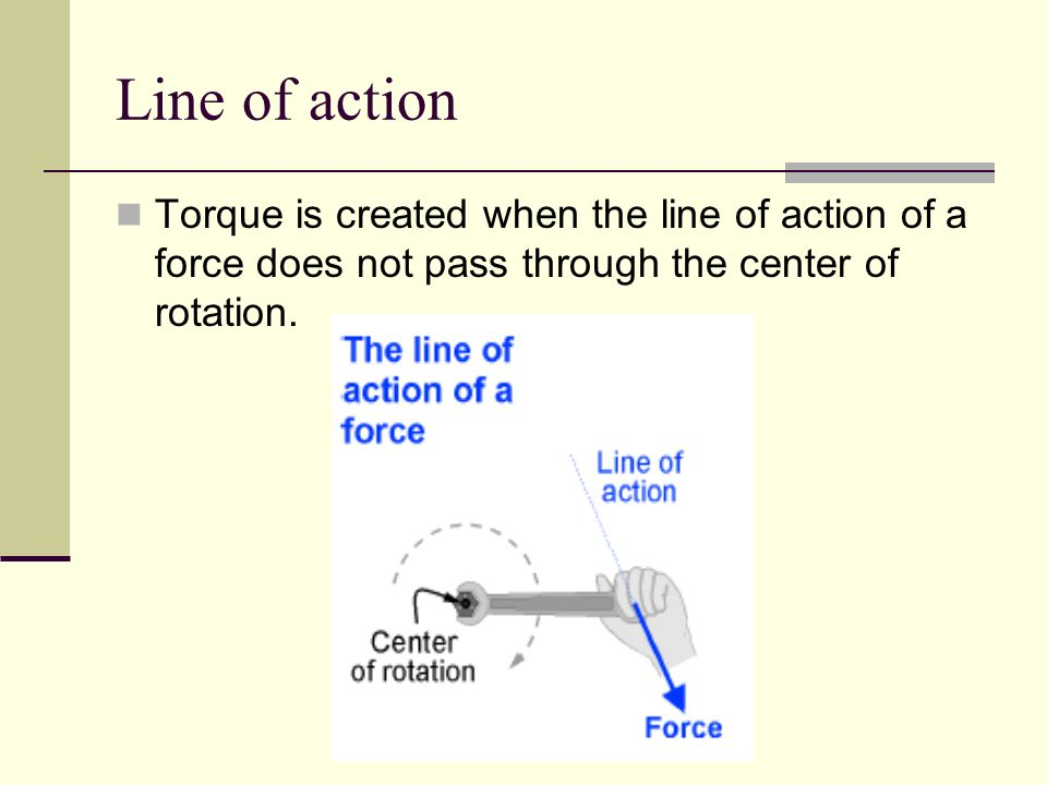Center of rotation The point or line about which an object turns is its center of rotation. For example, a doors center of rotation is at its hinges.