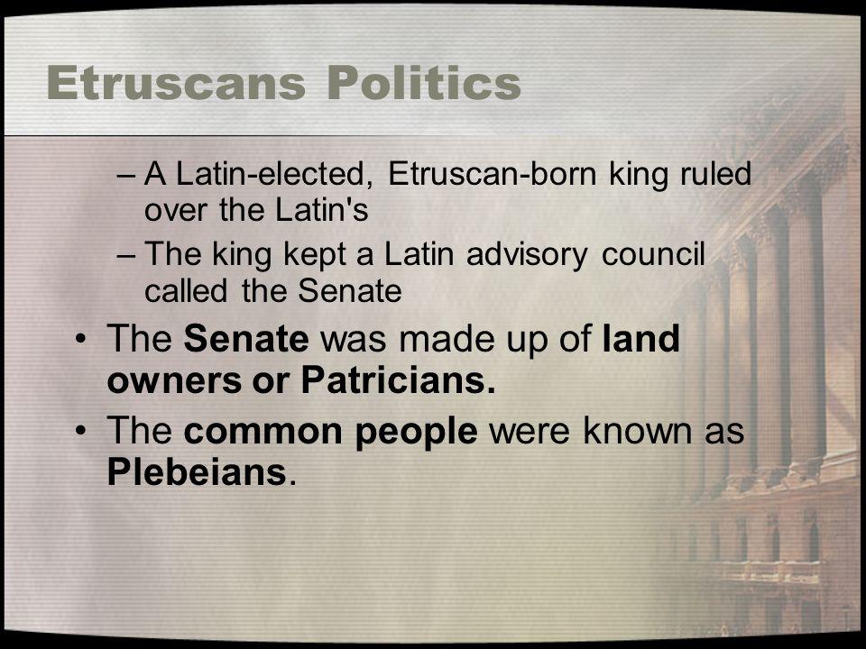 The Roman Republic Senate
