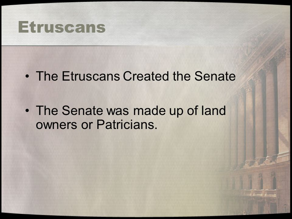 Expansion under the Republic