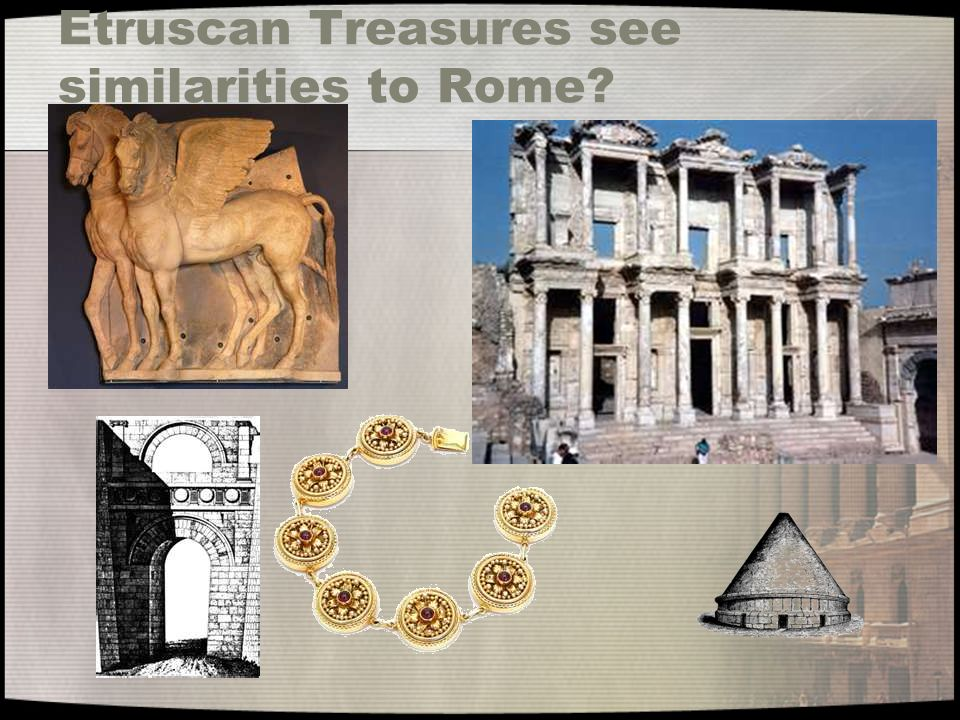 Eventually… The Tarquin (Etruscan Family) Dynasty was overthrown.