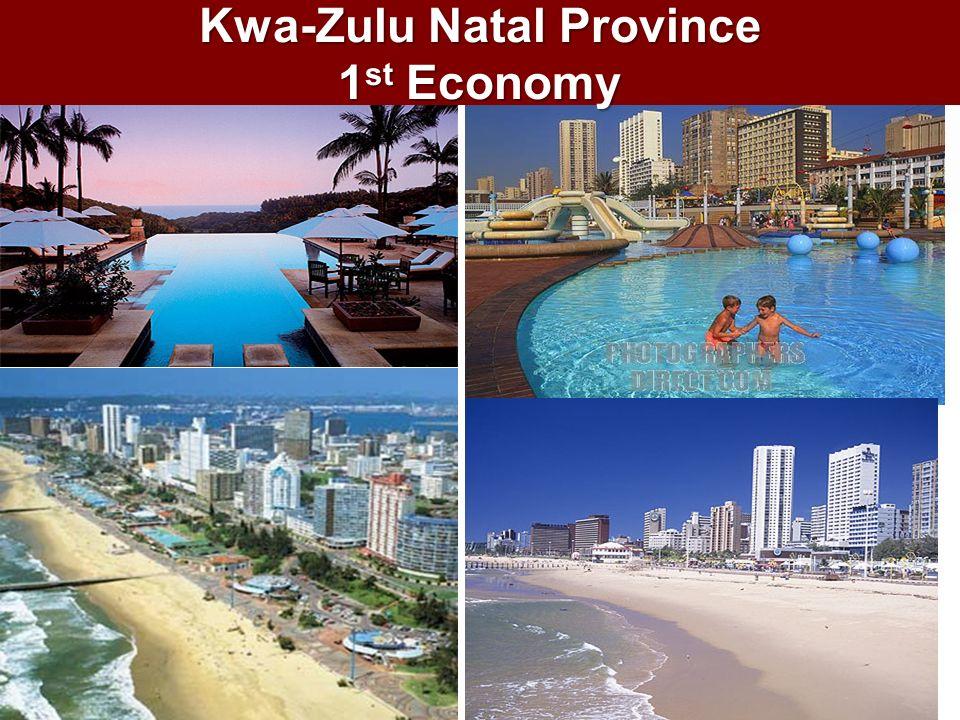 Kwa-Zulu Natal Province 1 st Economy