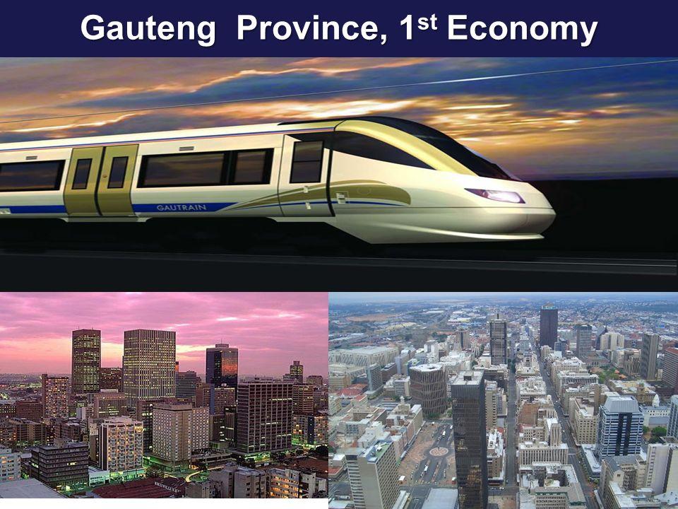 Gauteng Province, 1 st Economy