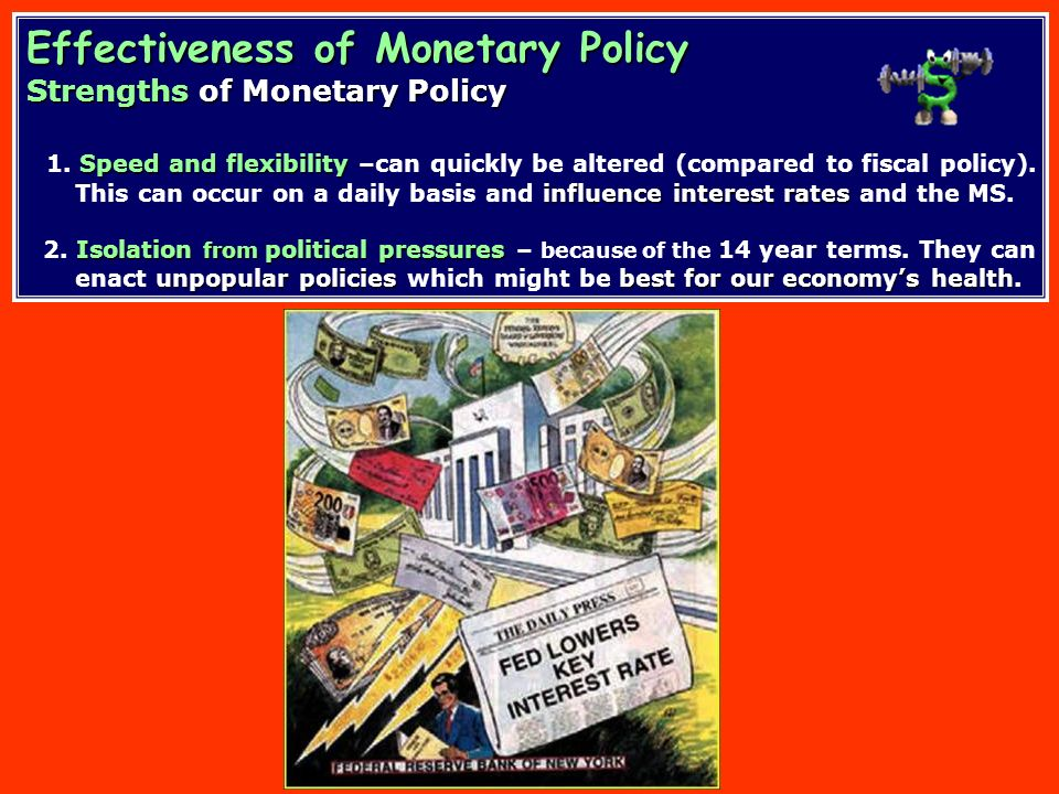 Relative Importance of Monetary Policy Relative Importance of Monetary Policy WWII - 1979 Fed targeted theinterest rate A. WWII - 1979 – Fed targeted