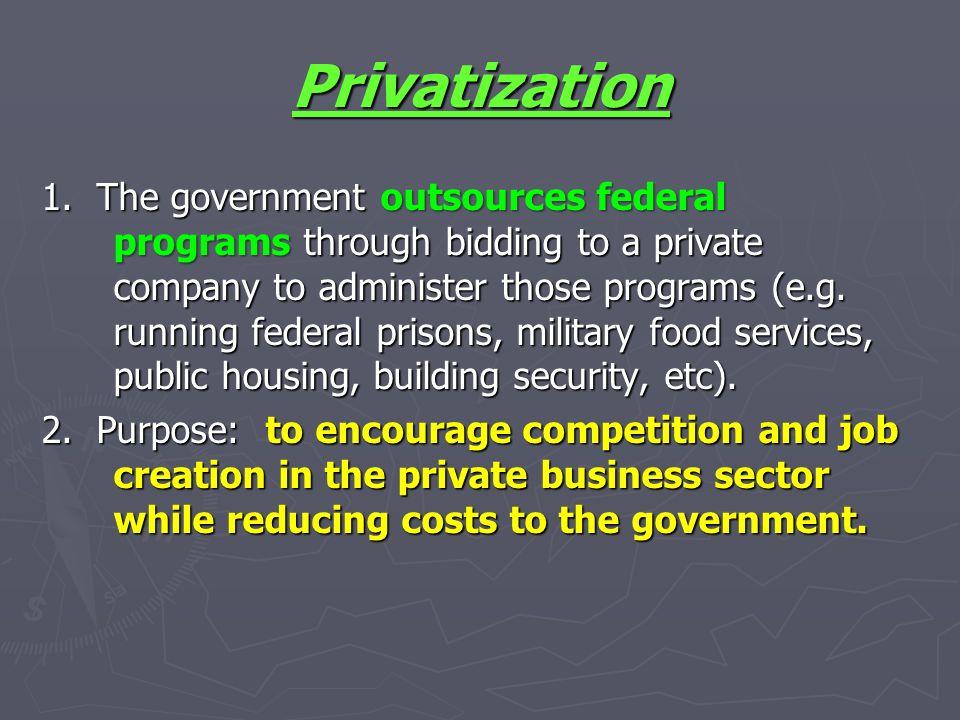 Privatization Privatization 1.