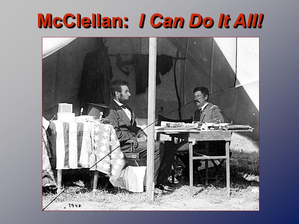 McClellan: I Can Do It All!