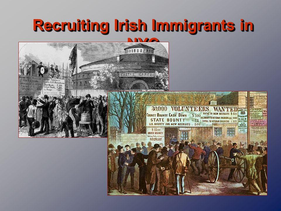 Recruiting Irish Immigrants in NYC