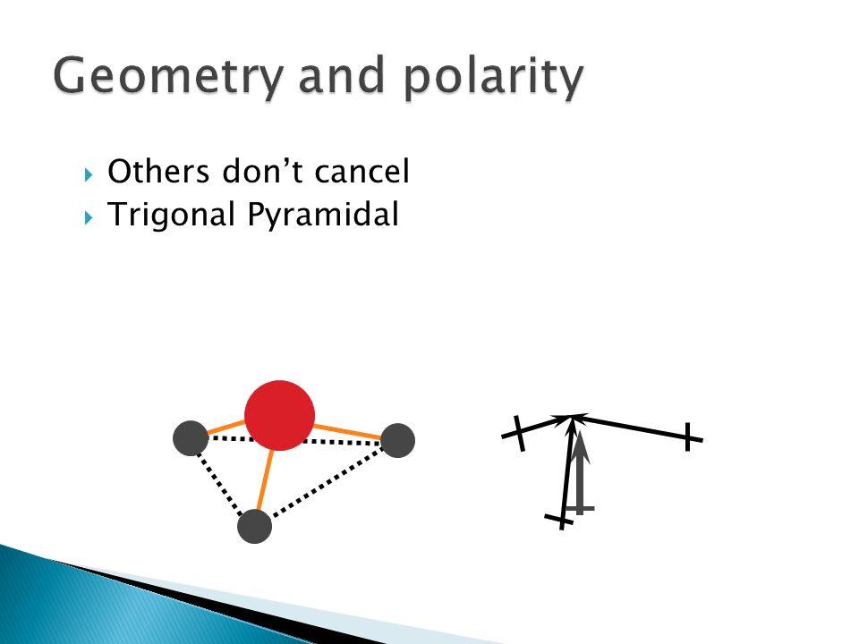 Others dont cancel Trigonal Pyramidal
