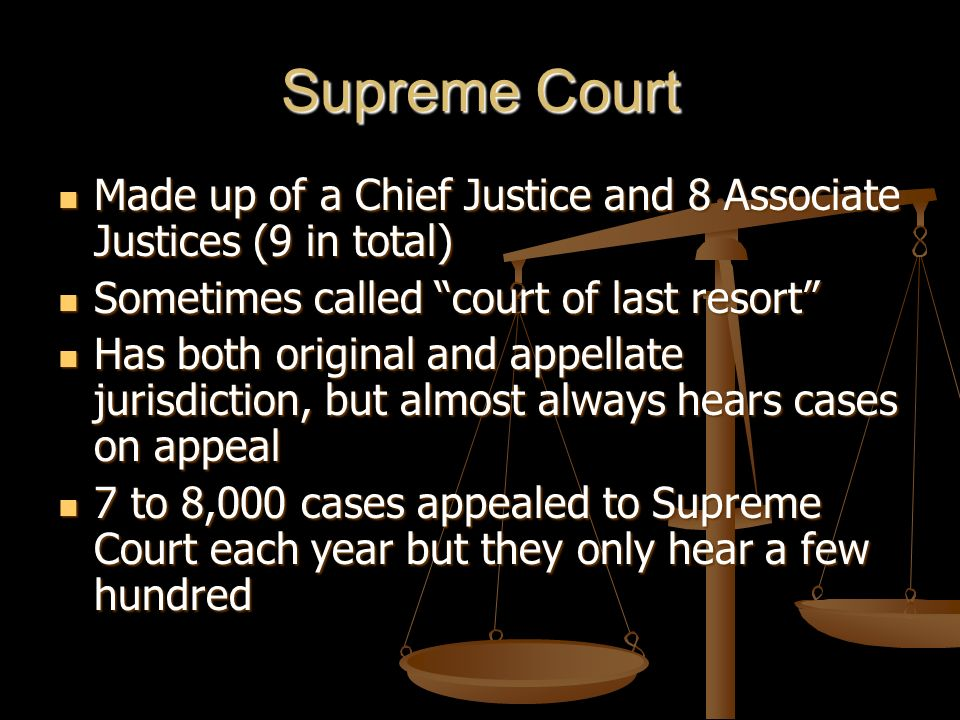 What are Special Courts.