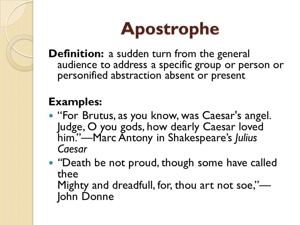Apostrophe Examples Alisen Berde