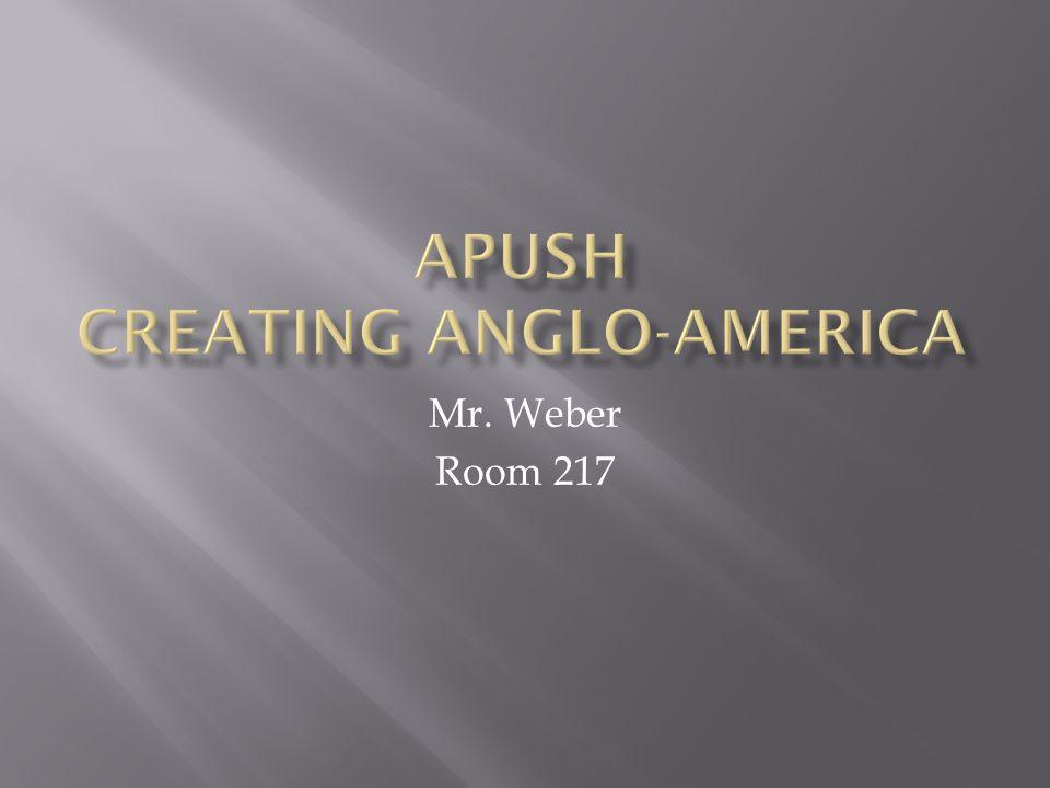 Mr. Weber Room 217