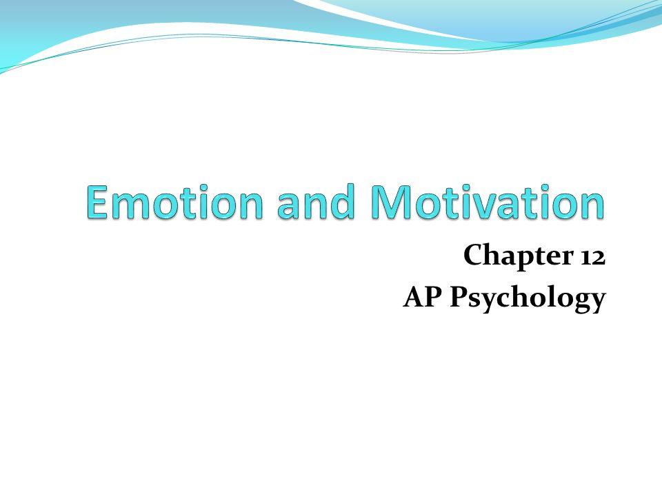 Chapter 12 AP Psychology