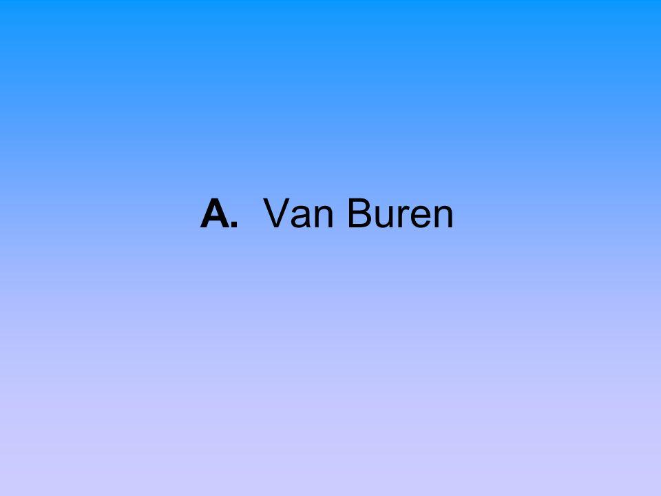 A. Van Buren