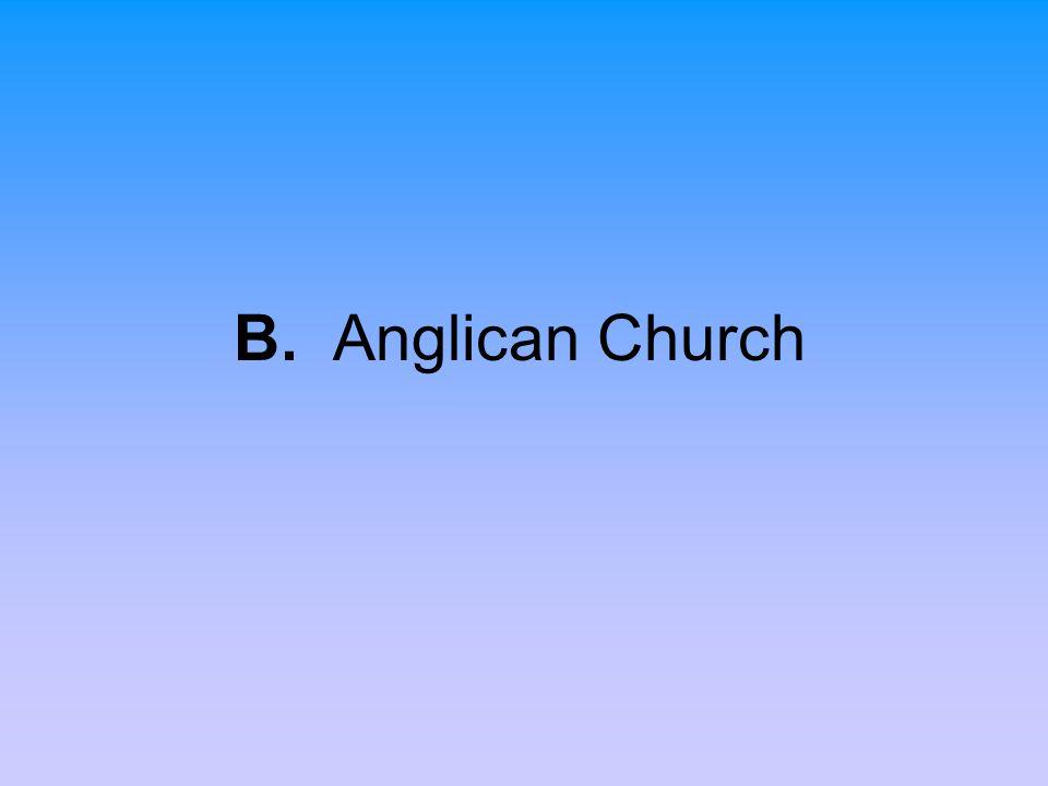 B. Anglican Church