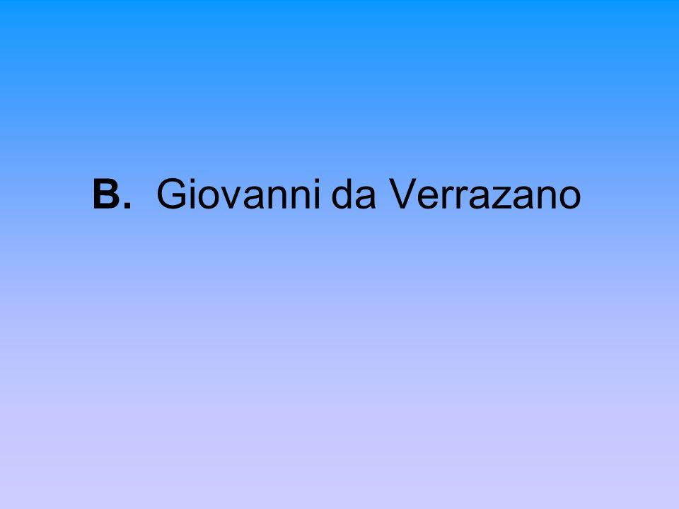 B. Giovanni da Verrazano