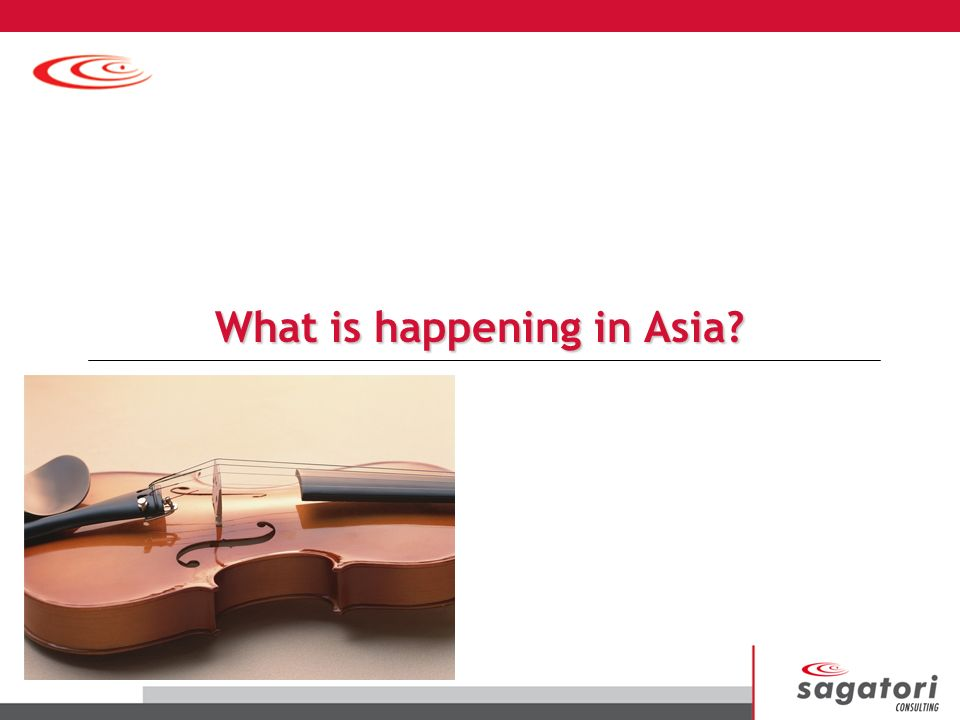 What is happening in Asia