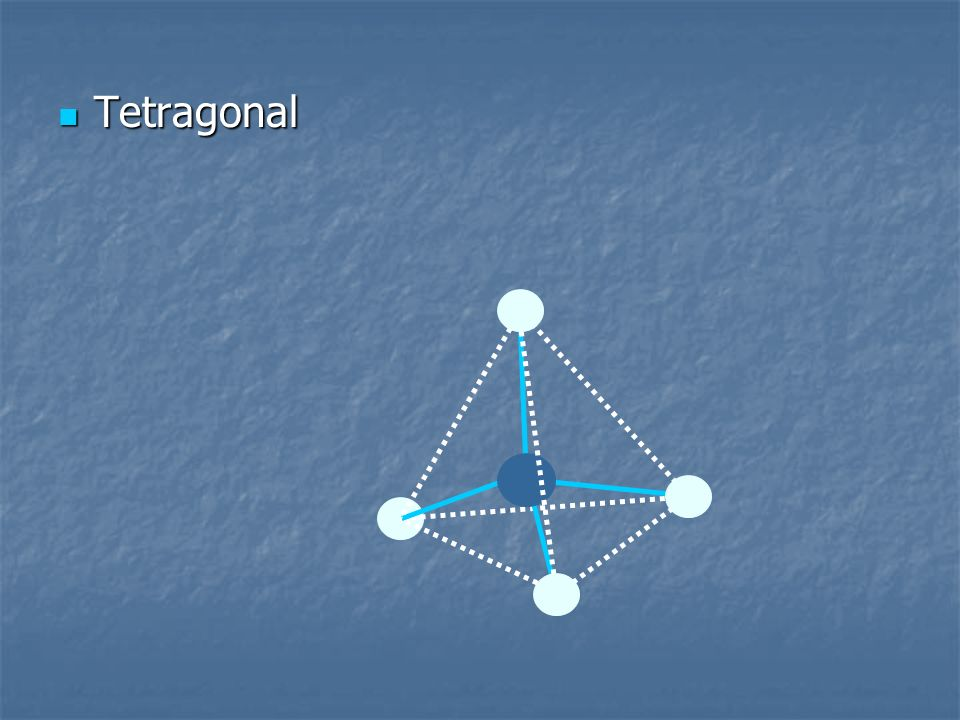 Tetragonal Tetragonal